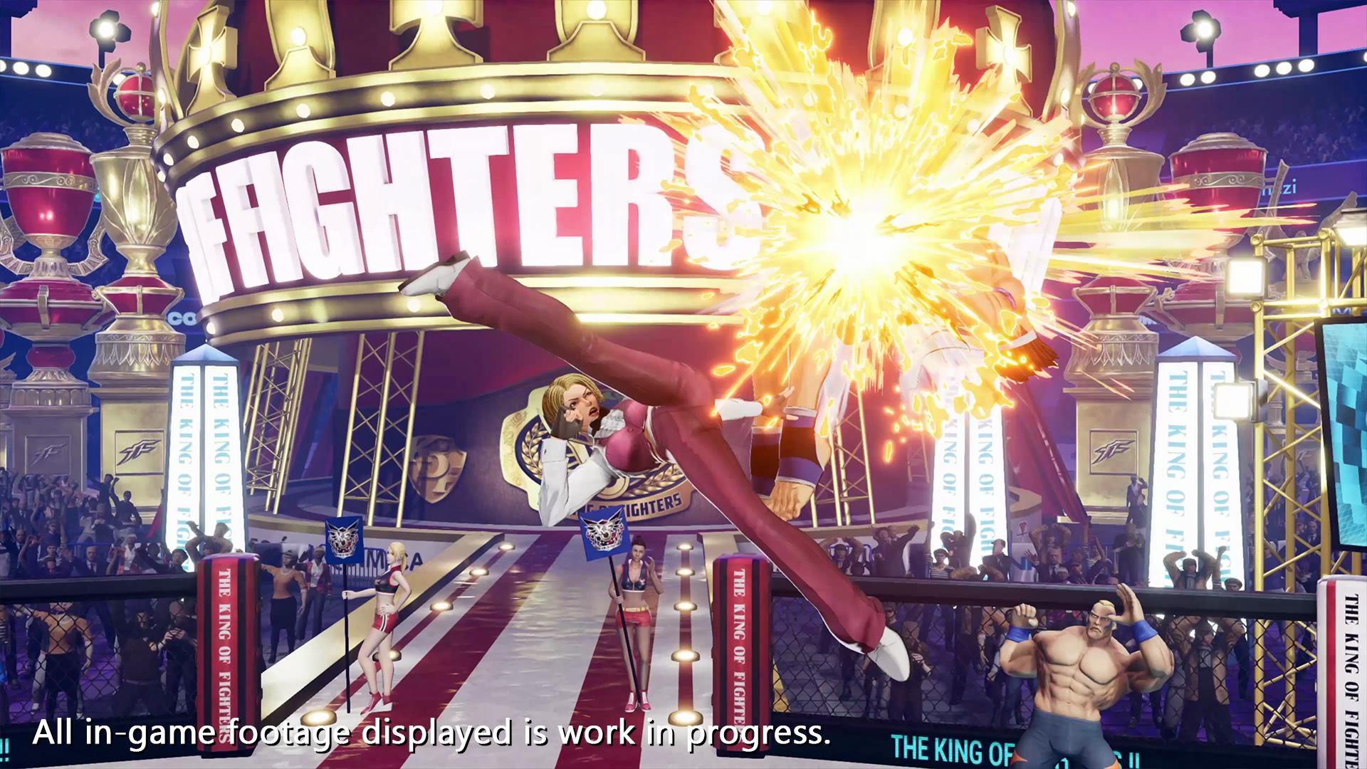 《拳皇15》角色新预告:酒吧服务生、泰拳使用者King亮相