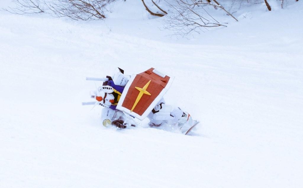 """""""活着""""的元祖高达 岛国高达粉丝展示精致COS高达日常"""