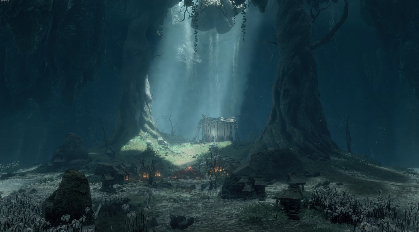 《Wallpaper Engine》只狼水生村洞穴祭台场景动态壁纸