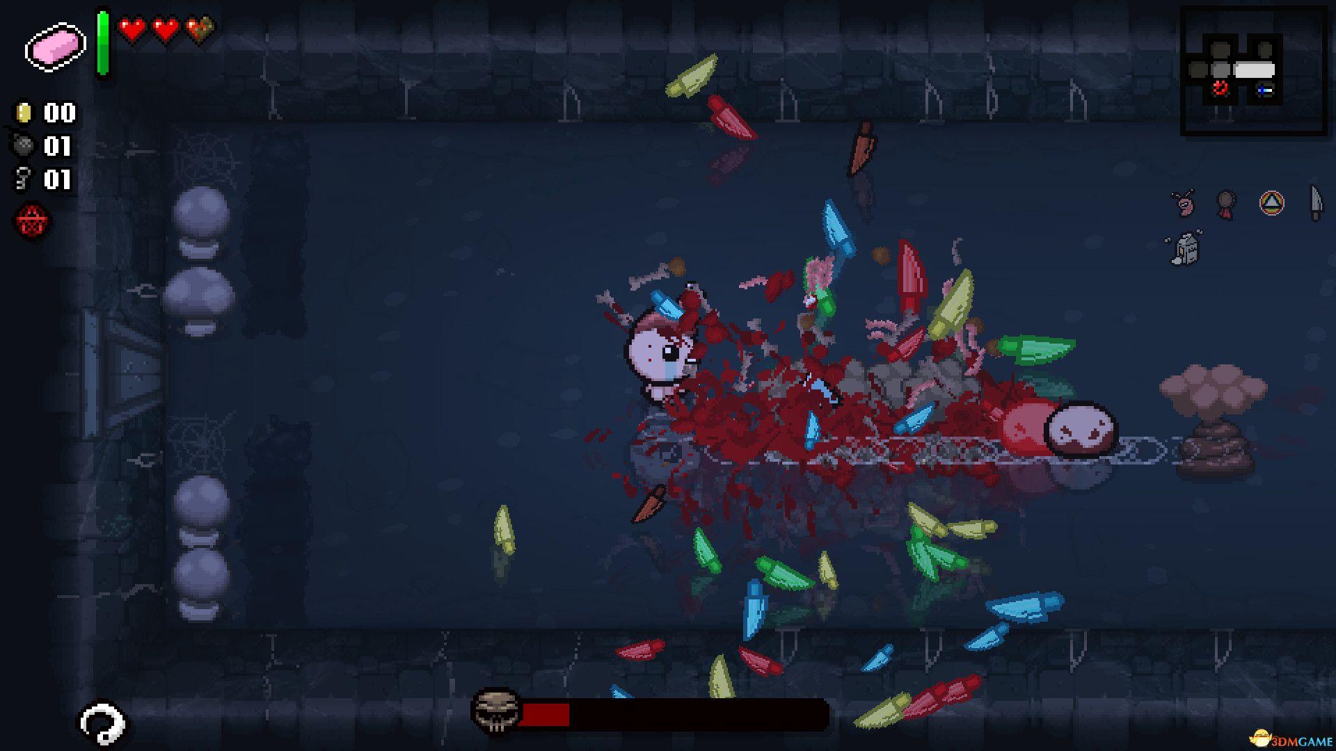 《以撒的结合:忏悔》新增内容攻略 最终真结局全boss战视频
