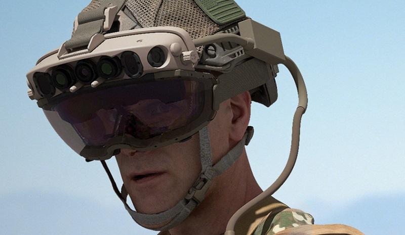 微软与美国陆军签订AR头戴式显示设备订单 价值约220亿美元