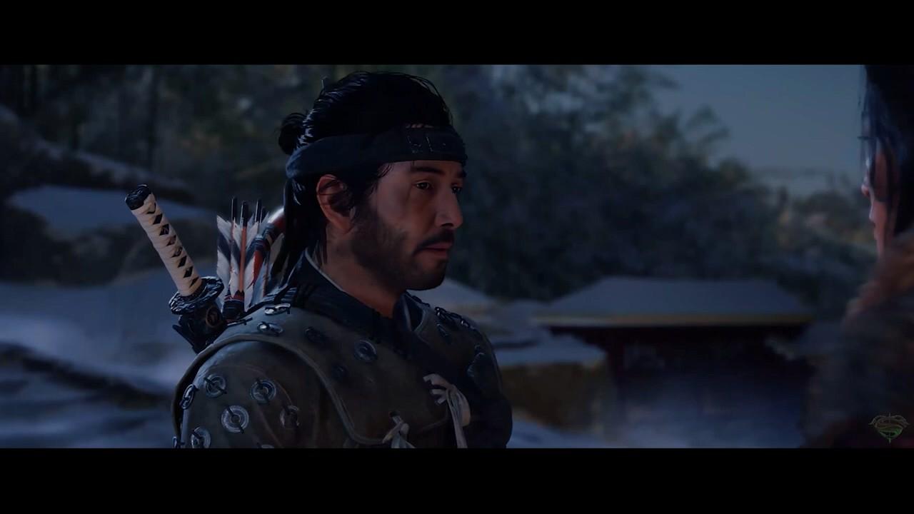 视频:当《对马岛之鬼》男主被换脸成基努里维斯