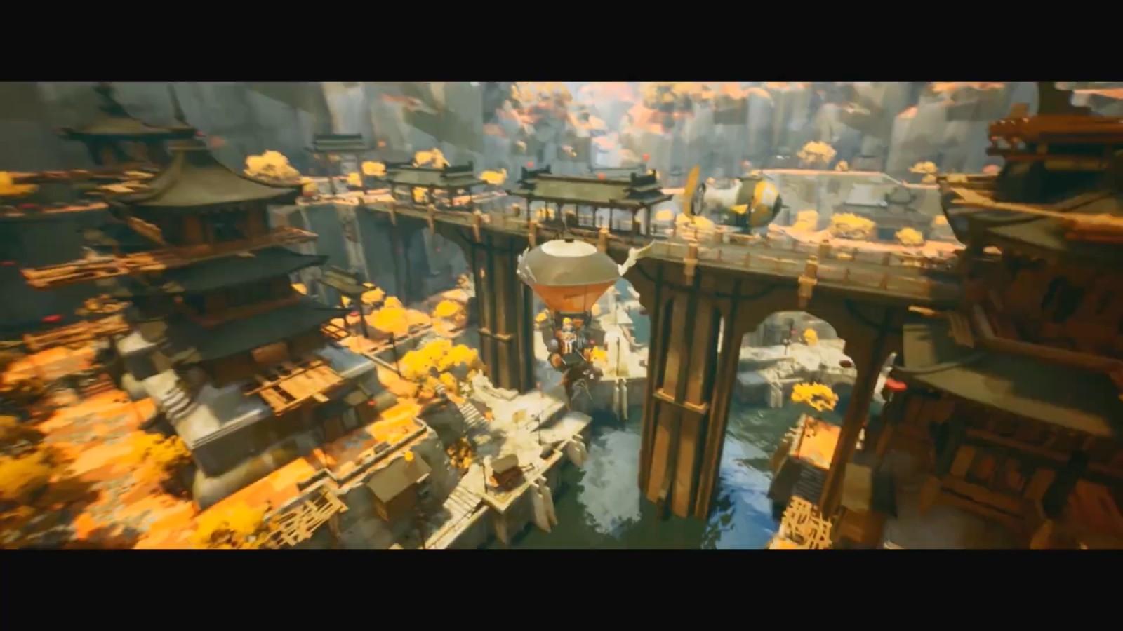 奇幻动作游戏《黄昏沉眠街》4月14日发售 新预告公开