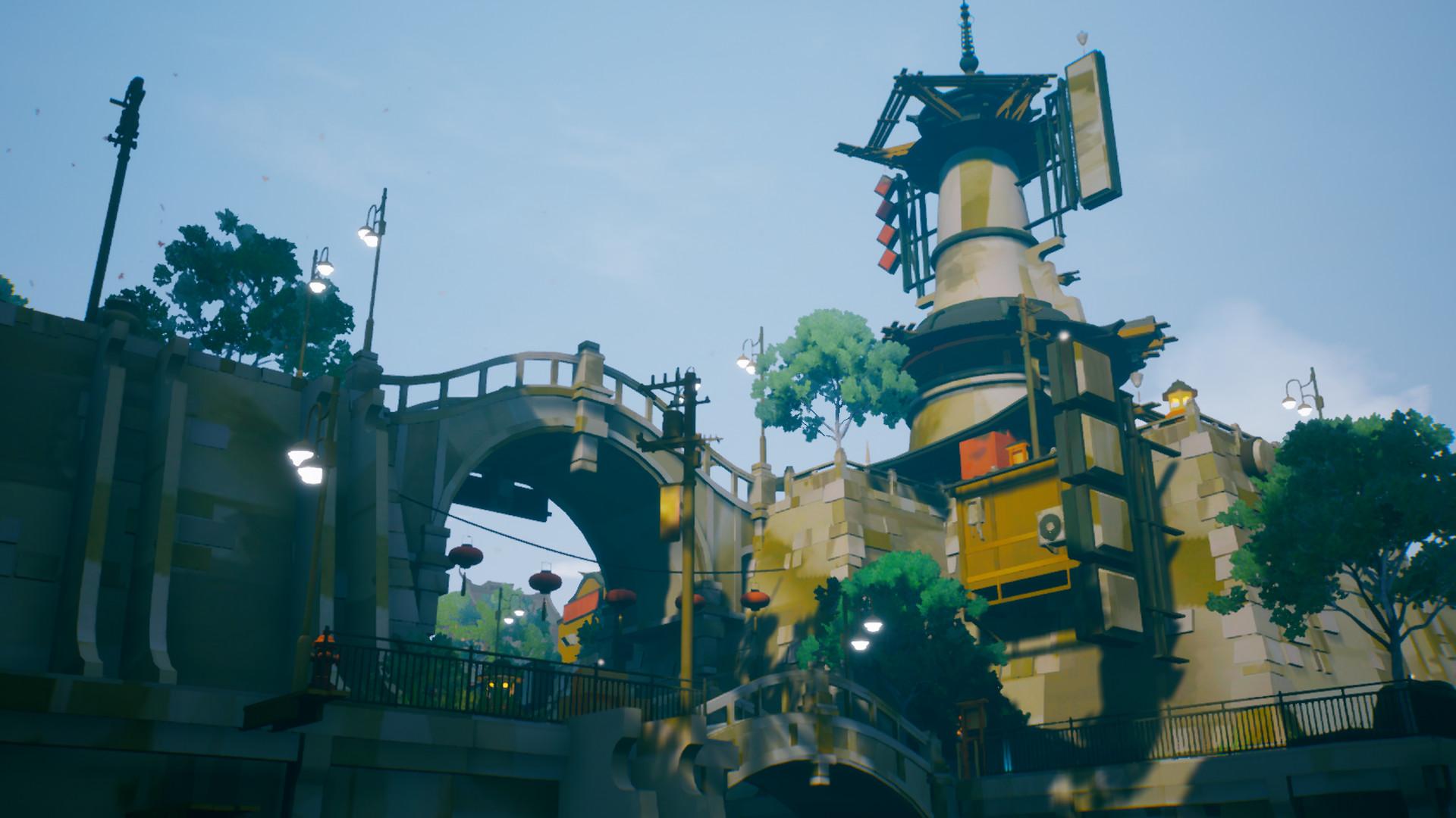 东方幻想探索游戏《黄昏沉眠街》4月14日发售 登陆Steam和GOG平台