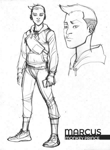 DC将添新超级英雄猴王子 灵感来源于中国美猴王