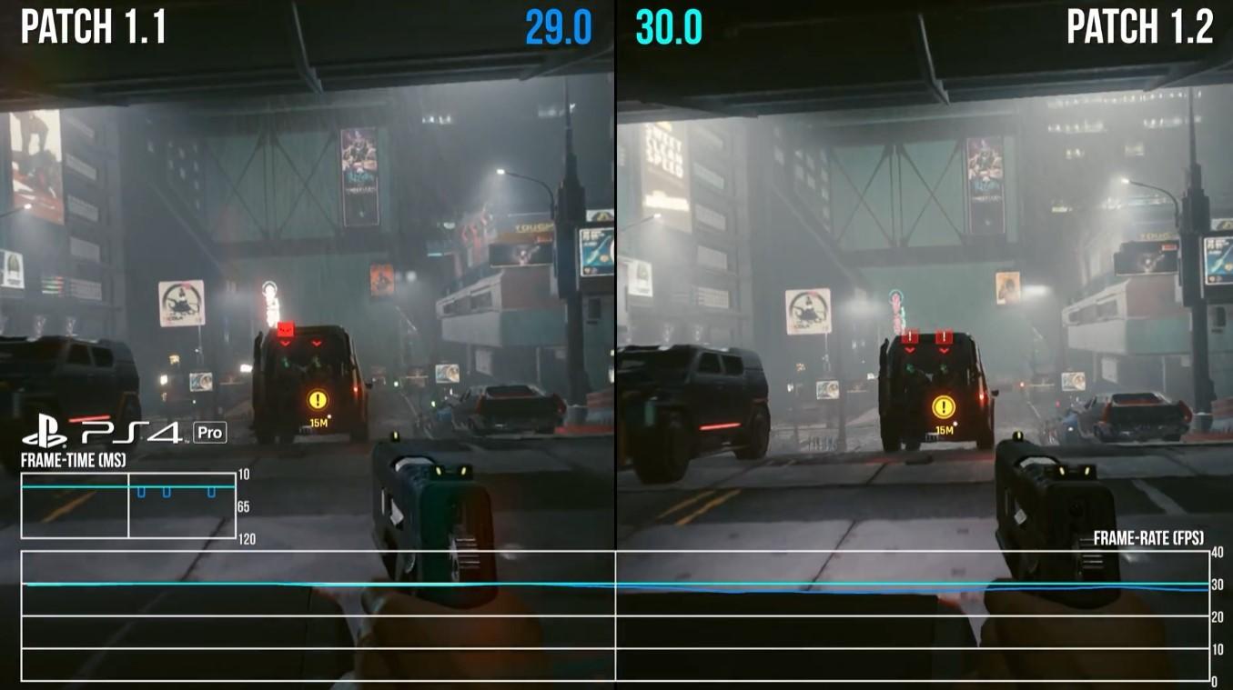 数毛社《赛博朋克2077》1.2补丁评测:30帧较稳 牺牲画质