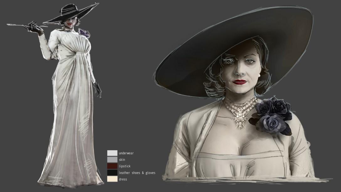 《生化危机8》吸血鬼夫人和女儿概念图 鞋子尺码曝光