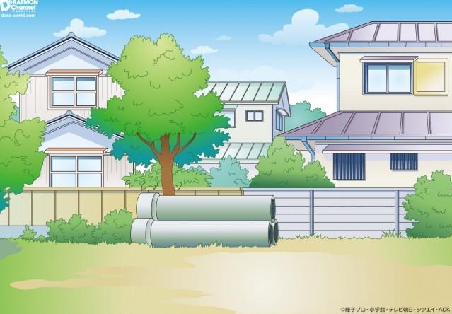 岛国父亲还原《哆啦A梦》最著名场景公园空地 3根水泥管回忆多多
