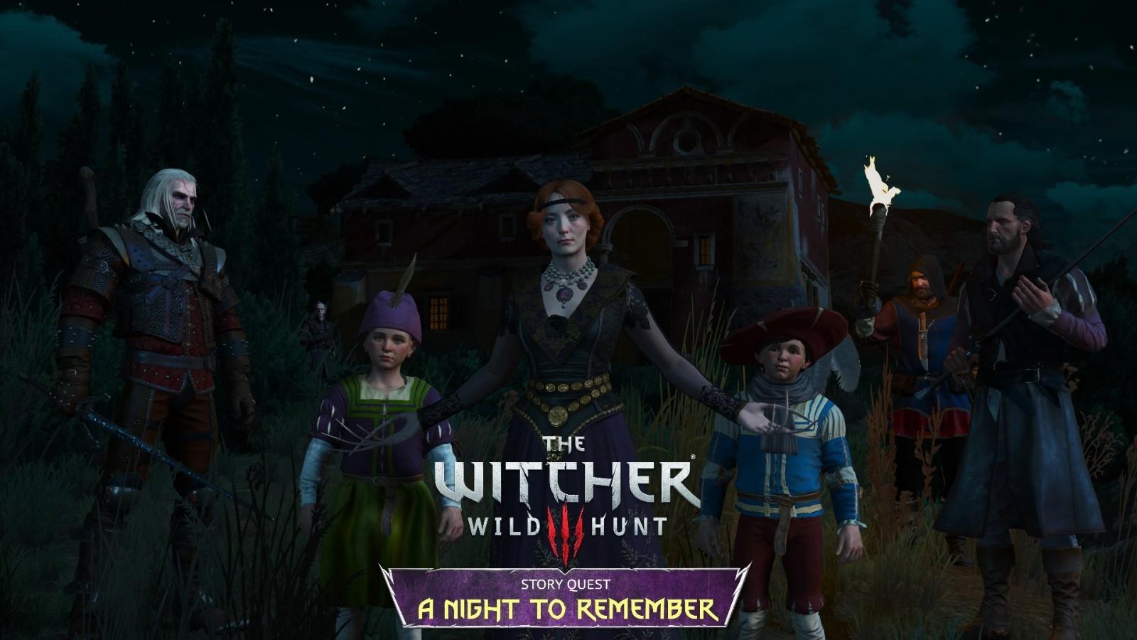 《巫师3》新任务Mod发布 继续讲述欧立安娜的故事