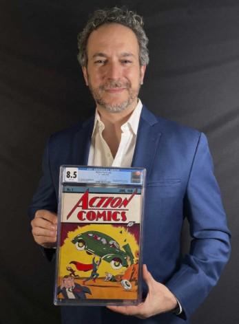 刊载《超人》第1话美杂志创刊号拍卖 325万美元天价创漫画系最高
