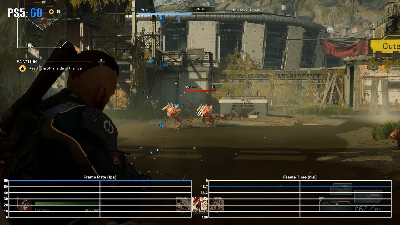 《Outriders》PS5/XSX/S对比:XSX分辨率最高 三大主机都能稳定60FPS