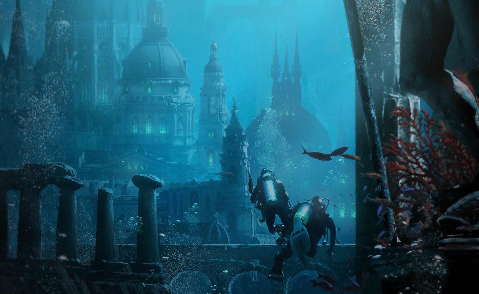 育碧《刺客信条》美术总监大量概念原画欣赏