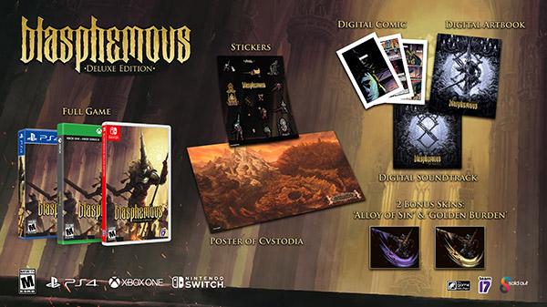 《神之亵渎》实体豪华版6月29日发售 值得收藏