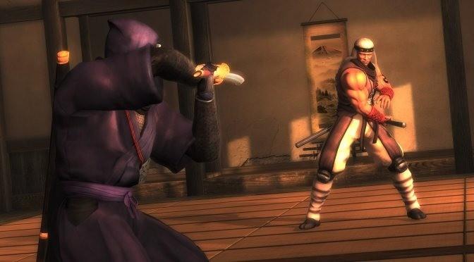 """《忍龙:大师合集》中""""忍龙西格玛""""基于PS3版移植"""