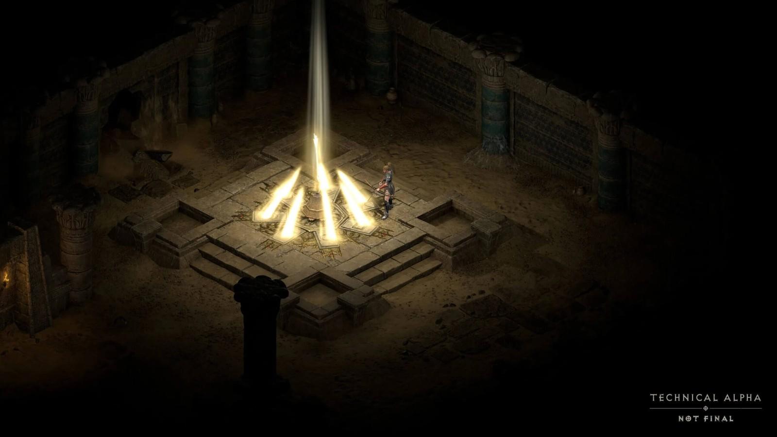 《暗黑破坏神2:重制版》新截图 游戏画面焕然一新