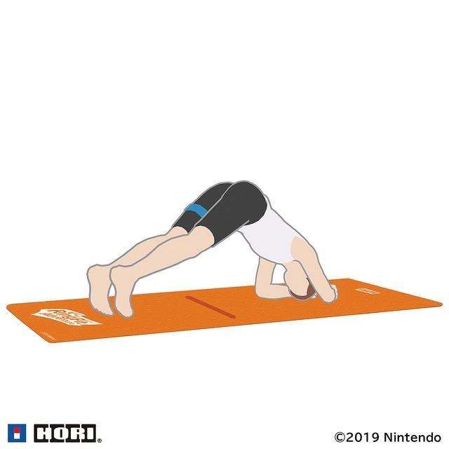 健身效果提升 HORI推出NS《健身环大冒险》专用脚垫