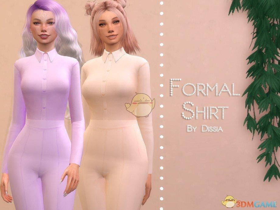 《模拟人生4》女性简洁商务上衣MOD