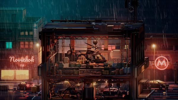 赛博朋克背景新游《间谍战》上架Steam 对抗大公司