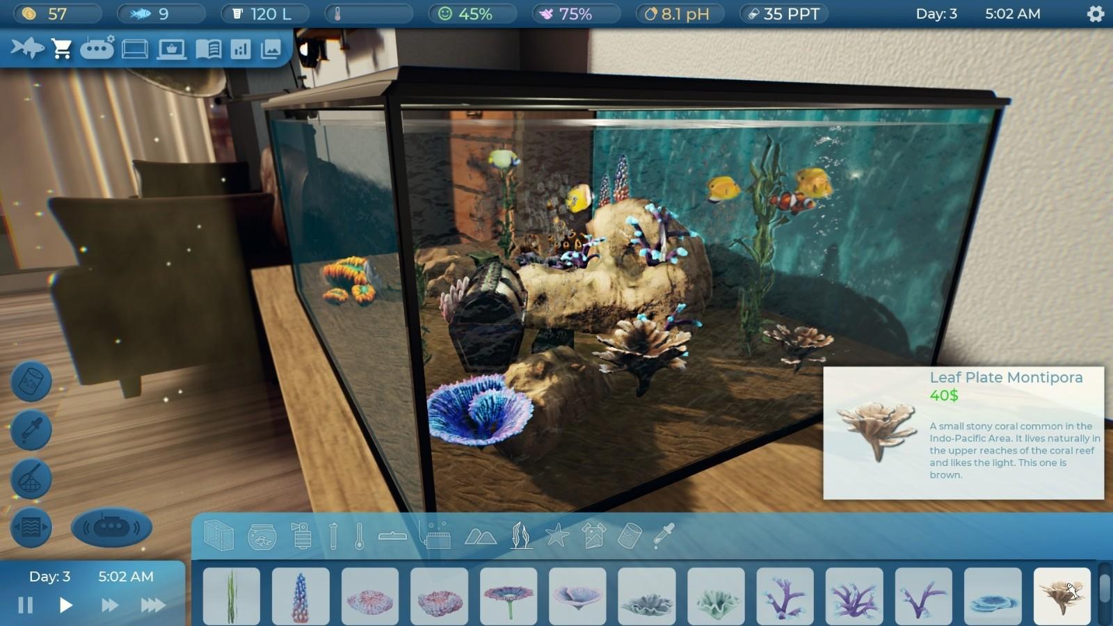 模拟新作《水族饲养员》公布 将于2022年5月发售