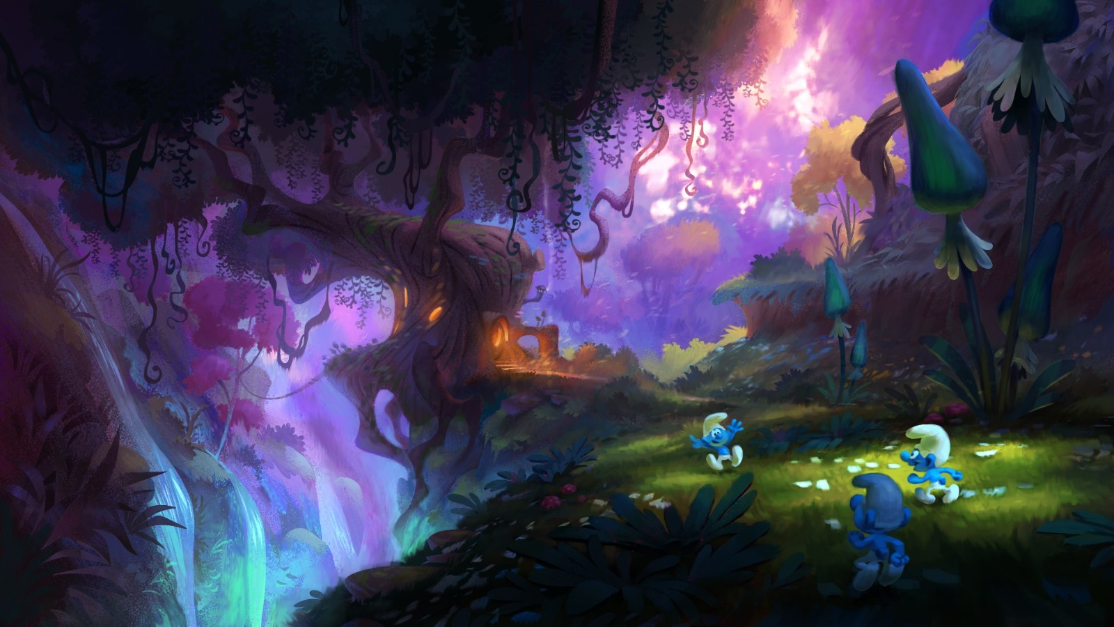 《蓝精灵》全新游戏名称确定 年内发售登陆全平台