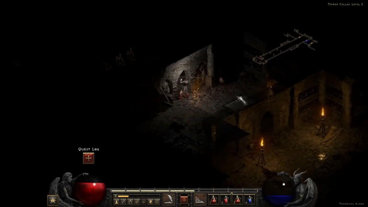 《暗黑破坏神2:重制版》4小时直播视频展示
