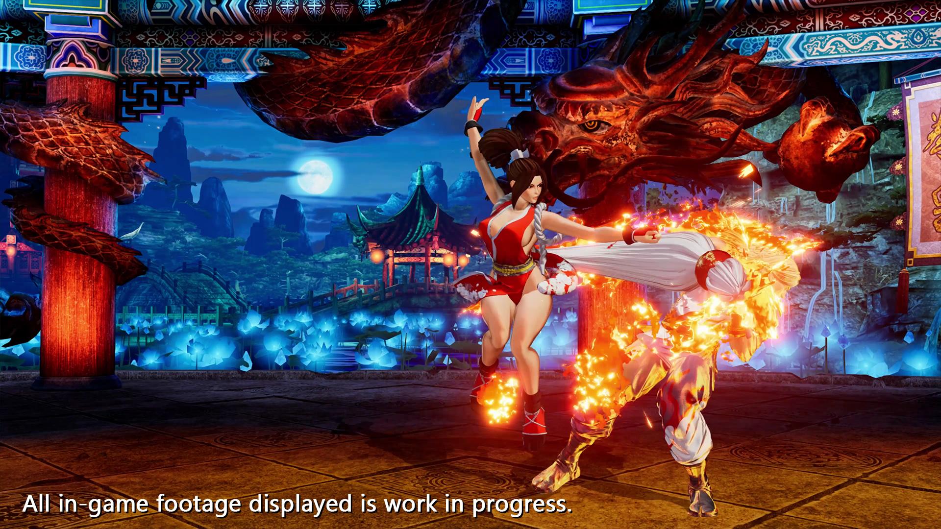 《拳皇15》开发者评价不知火舞 请期待她与安迪的互动