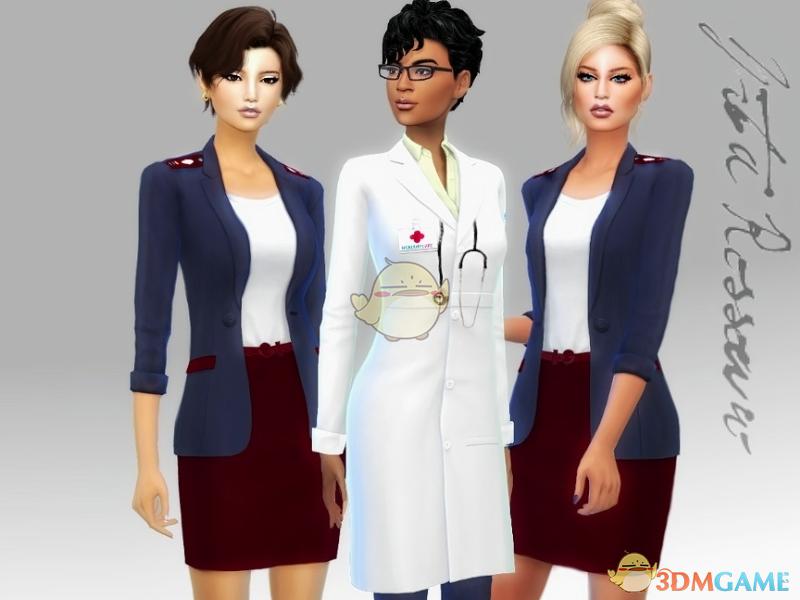《模拟人生4》医院工作人员服装MOD