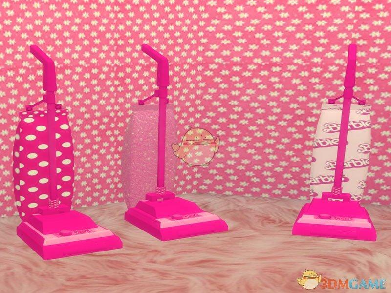 《模拟人生4》迷你粉红吸尘器MOD