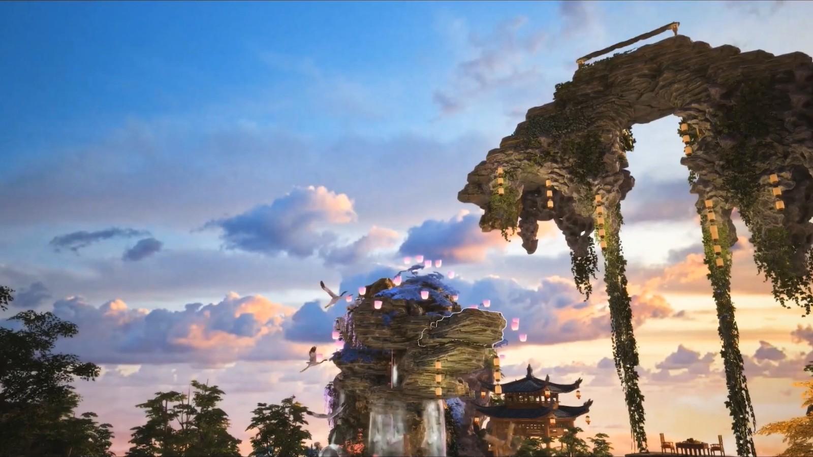《古剑奇谭OL》海外版战斗预告 今夏上线