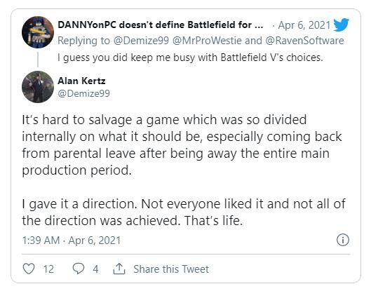 前《战地5》设计总监谈开发 表示很难挽救这款游戏