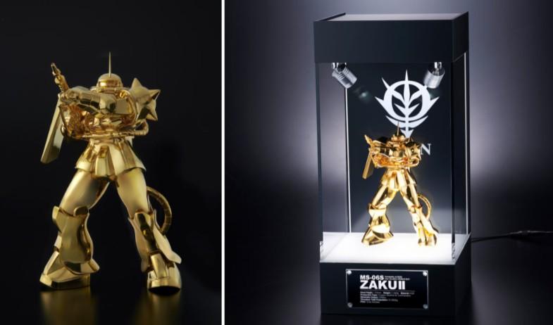 《高达》24k纯金版模型公开 日本匠人技艺精致绝伦