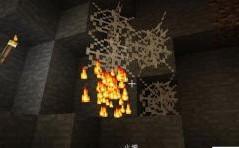 《我的世界》1.12.2蜘蛛网可燃烧MOD