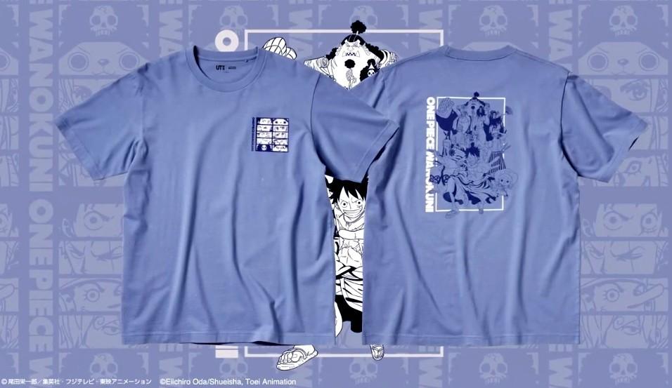 《海贼王》最新联动优衣库T恤4月23日发售 主题来自和之国
