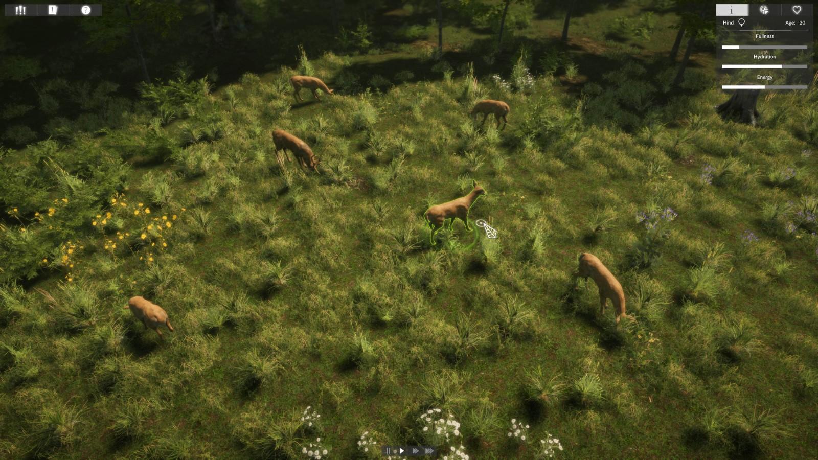 休闲探索游戏《自然本能》上架Steam 7月2日发售