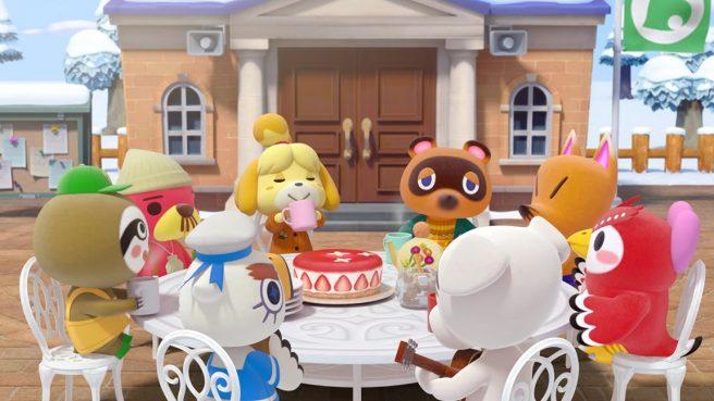 《动物森友会》官方公布系列20周年纪念贺图 感谢玩家
