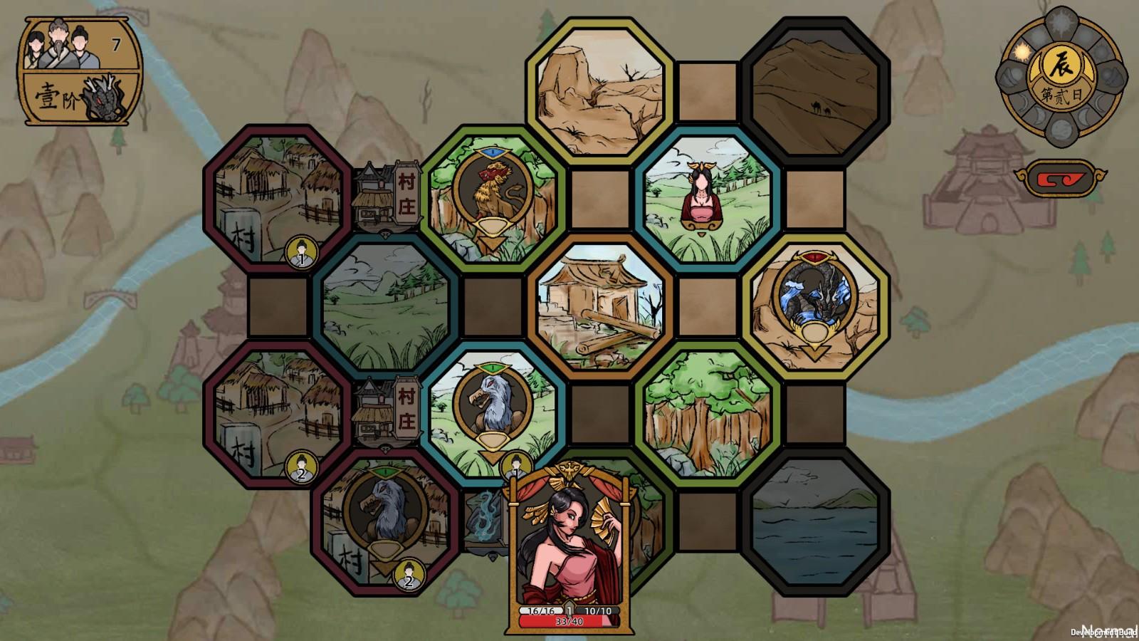 修仙沙盒游戏《山河伏妖录》上架Steam 今夏发售
