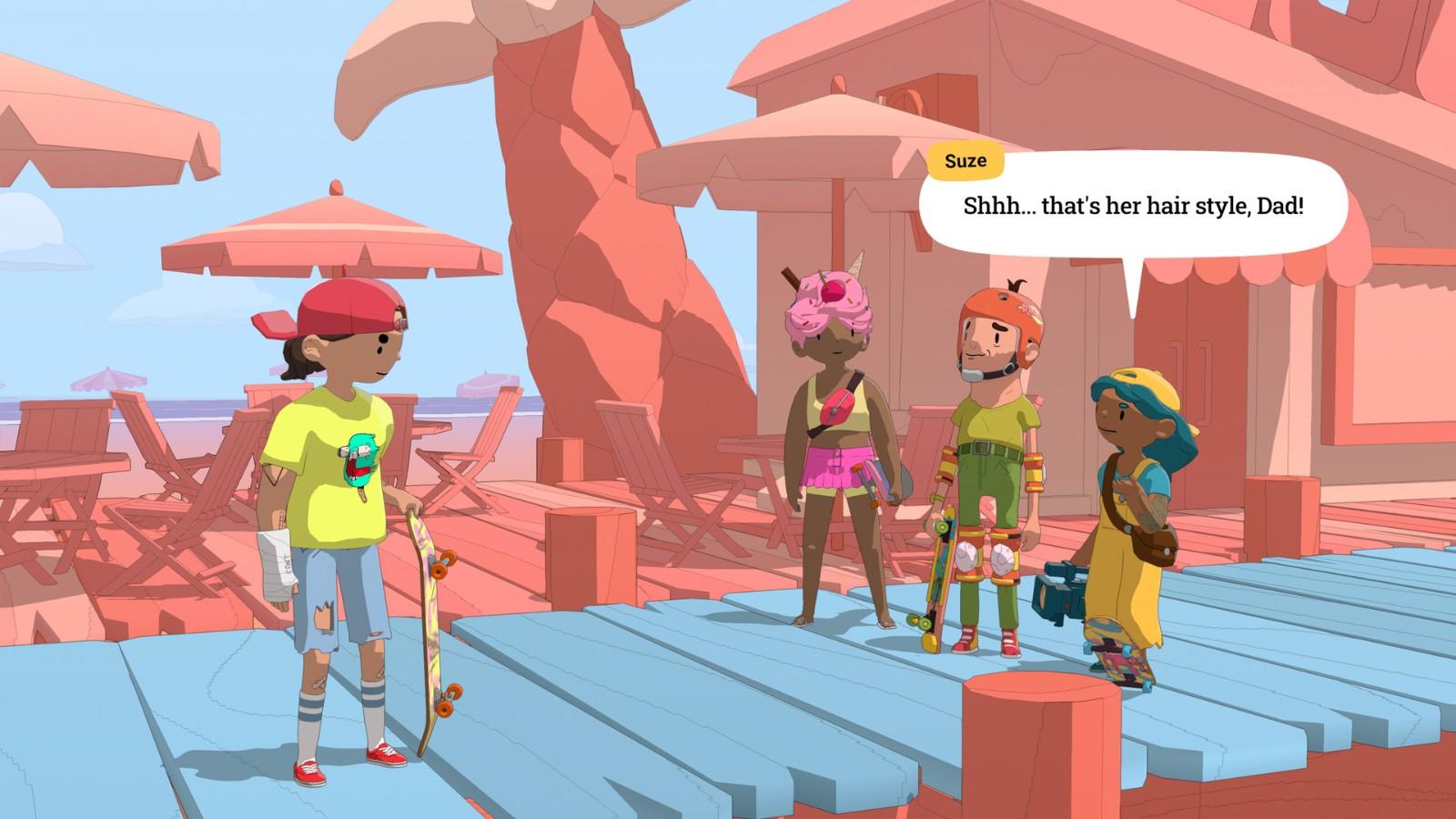 卡通滑板ACT《奥力奥力世界》发布 登陆全平台
