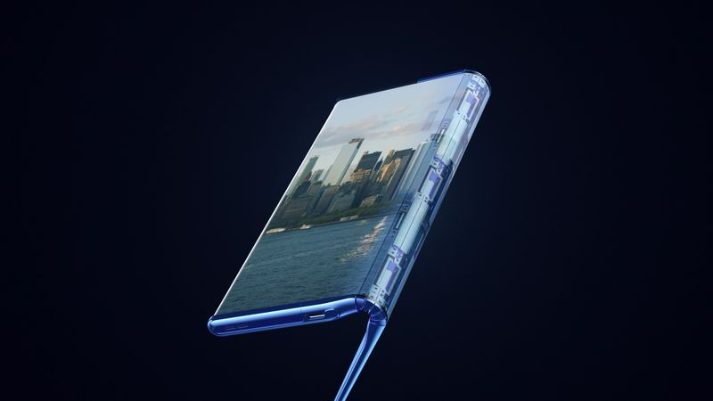 TCL展示可卷可折的概念手机 可变身10英寸平板