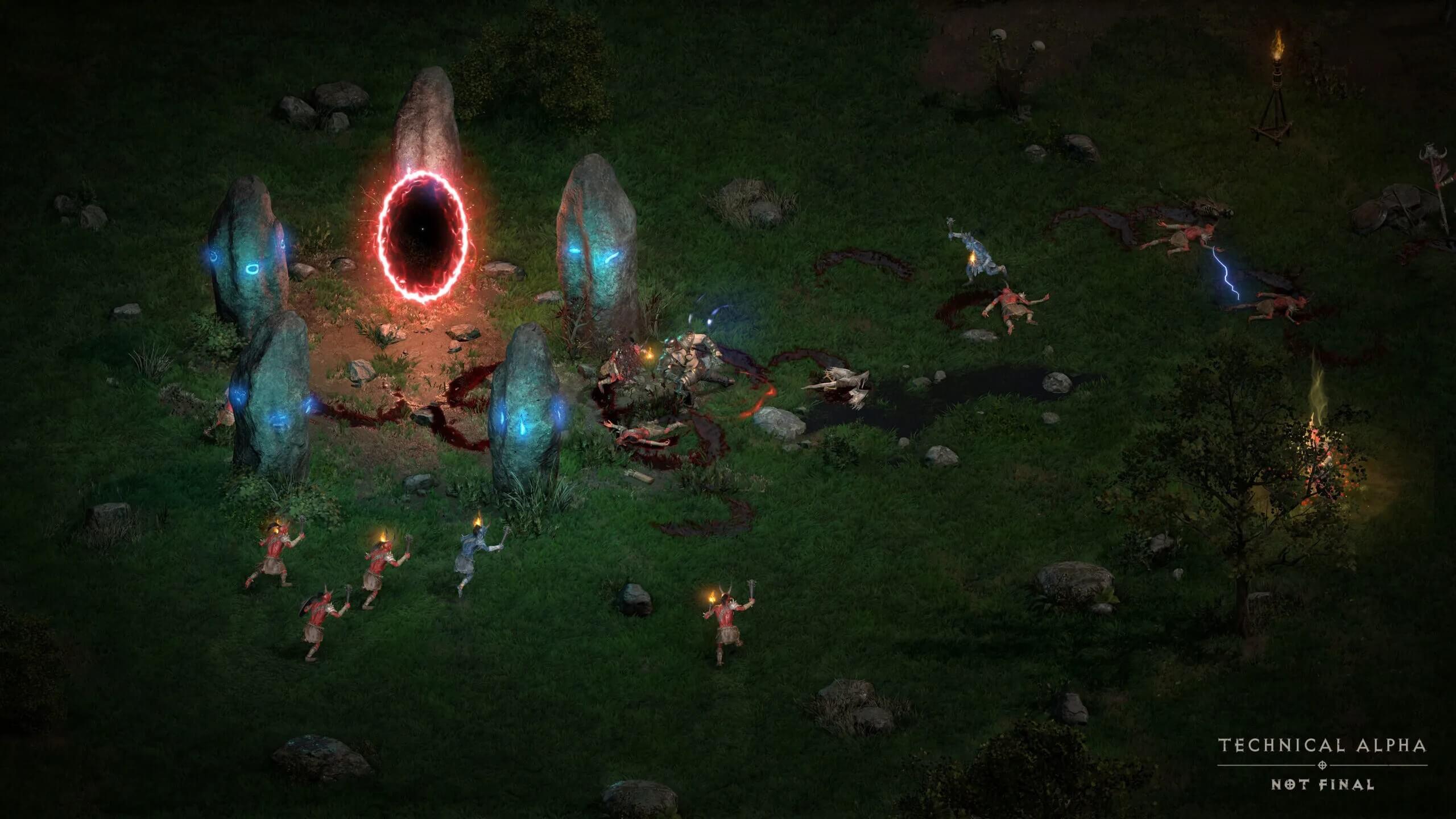 《暗黑破坏神2:重制版》A测版已被破解 可离线游玩
