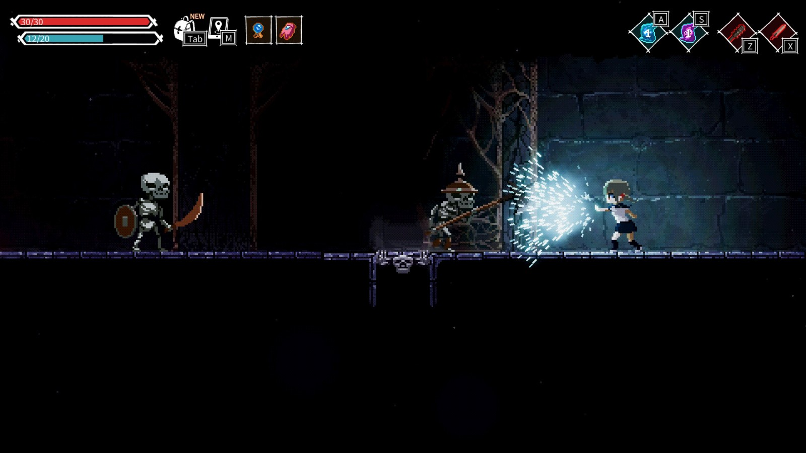 2D动画求生动作游戏《失落废墟》5月13日登陆PC