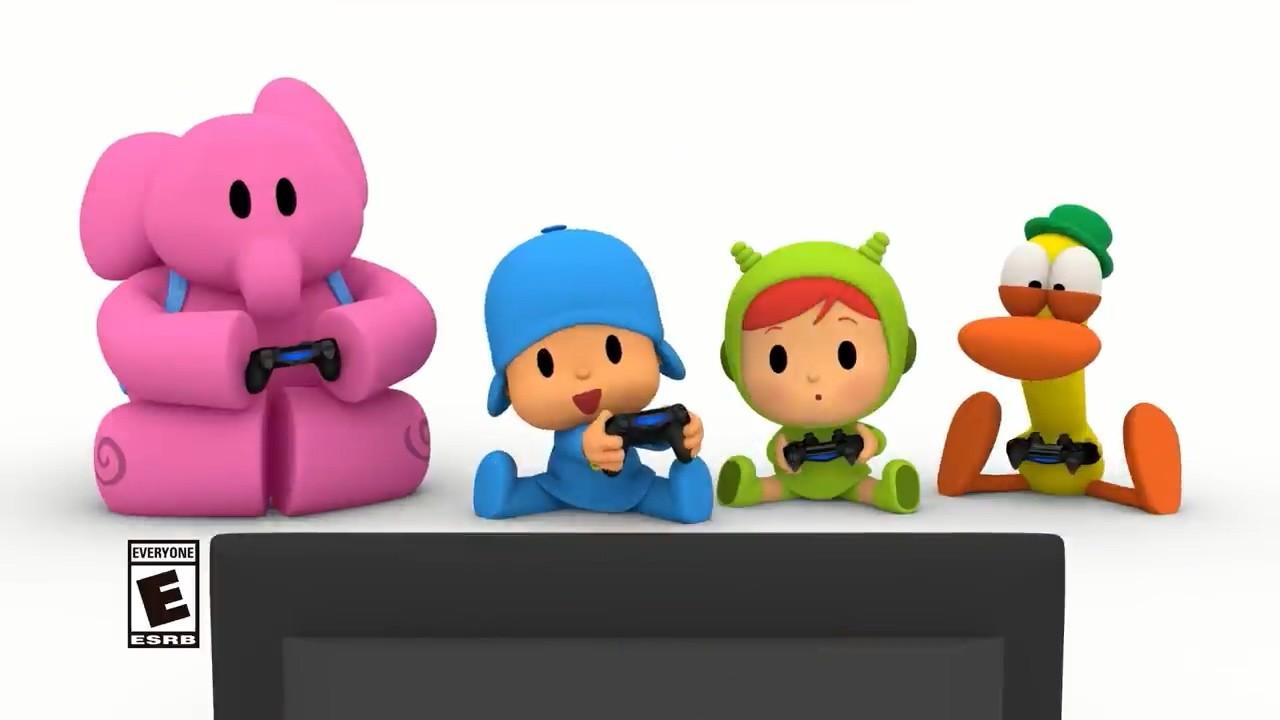 儿童动画改编游戏《小P优优派对》登陆PS4和NS