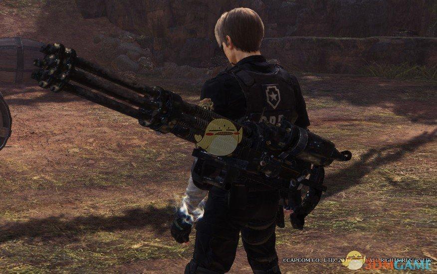 《怪物猎人:世界》生化危机加特林MOD