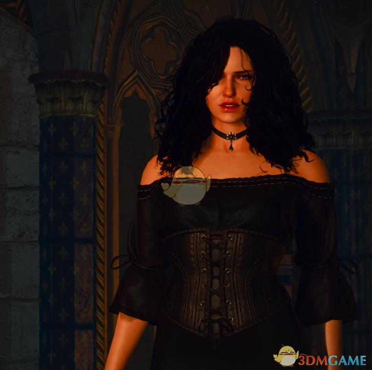 《巫师3:狂猎》叶奈法的露肩礼服MOD