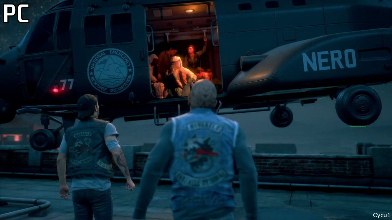 《往日不再》画面对比视频:PC vs PS5