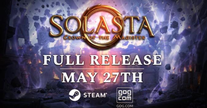 D&D战术RPG《索拉斯塔:法师之冠》5月27日正式发售