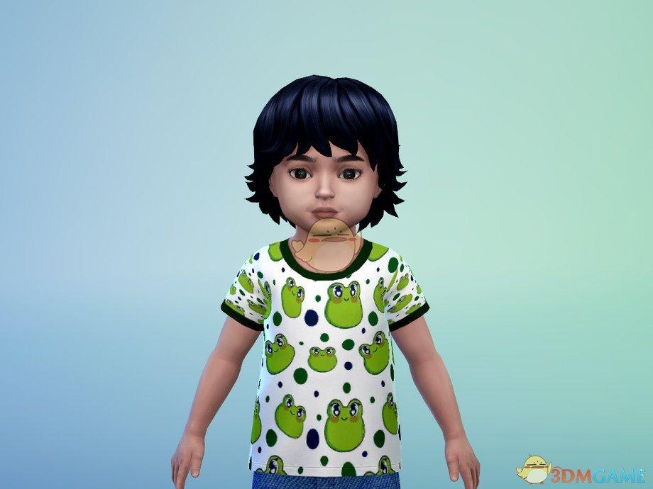 《模拟人生4》幼儿青蛙t恤MOD