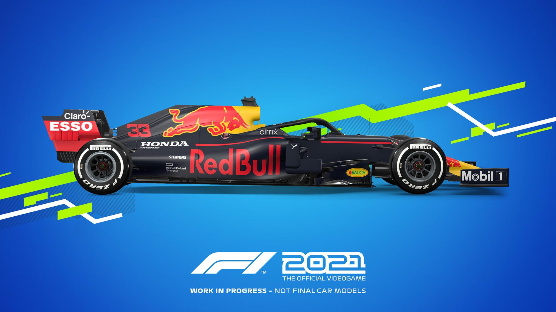 《F1 2021》PC配置公布 推荐1660 Ti