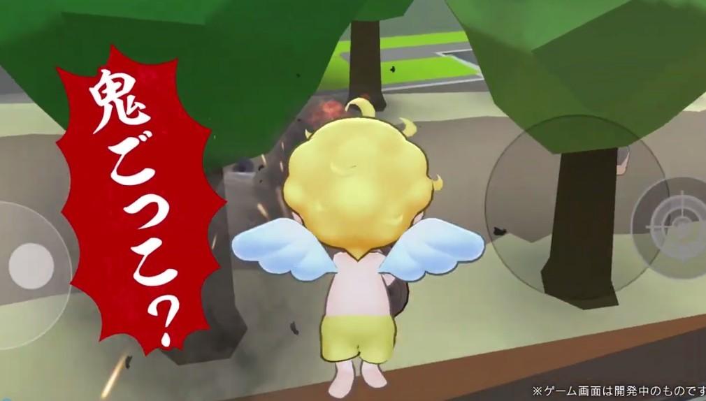 美女明星本田翼与微软合作游戏新发布 天使VS人类新手游