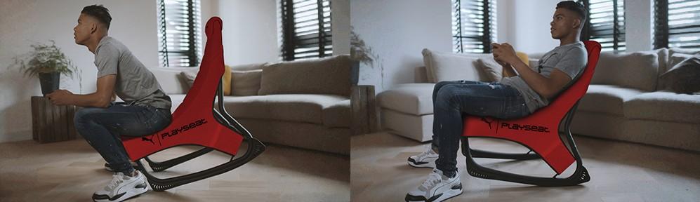 彪马推出全新人体工学设计游戏椅子 可前倾亦可葛优躺