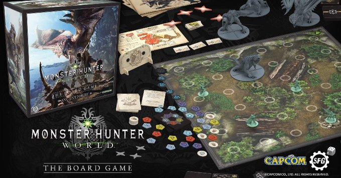 《怪物猎人世界 桌游版》众筹金额已突破200万美金